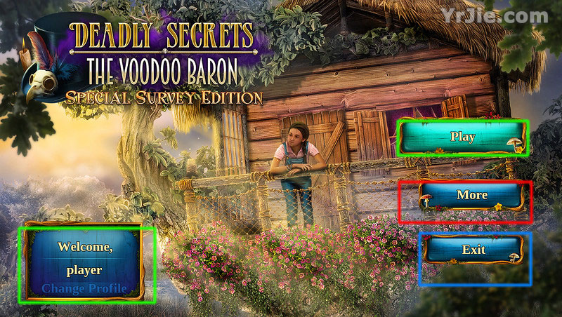 deadly secrets: the voodoo baron collector's edition walkthrough screenshots 1