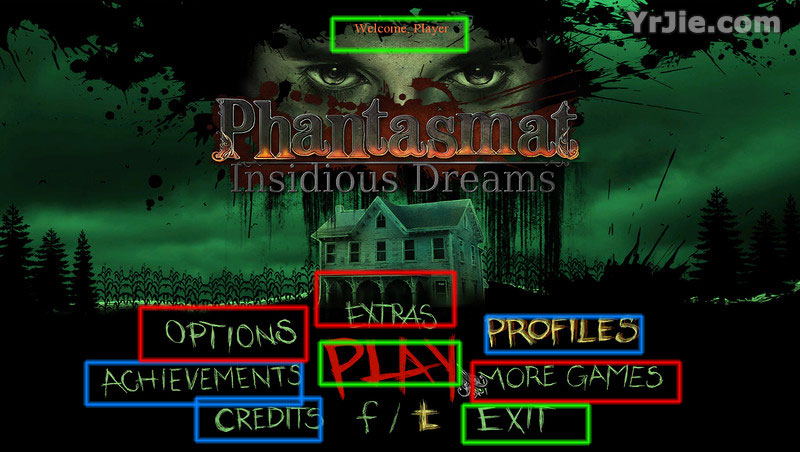 Phantasmat: Insidious Dreams Walkthrough