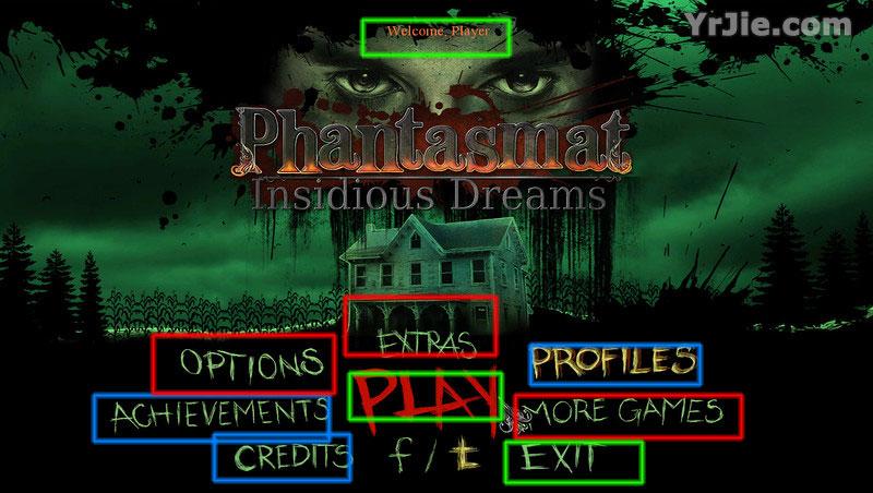 phantasmat: insidious dreams walkthrough