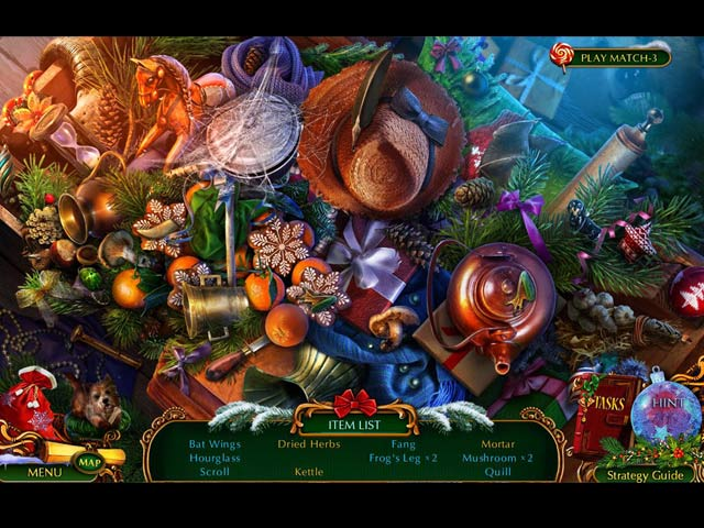 the christmas spirit: trouble in oz collector's edition screenshots 8