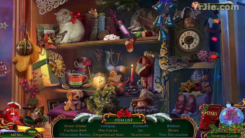 the christmas spirit: trouble in oz collector's edition review screenshots 2