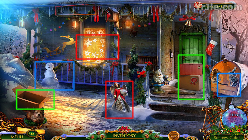 the christmas spirit: trouble in oz collector's edition walkthrough screenshots 2
