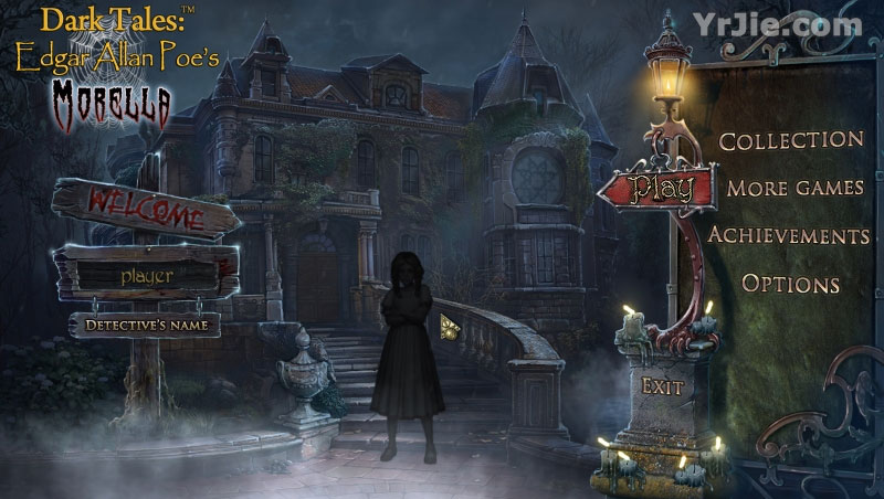 dark tales: edgar allan poes morella collector's edition