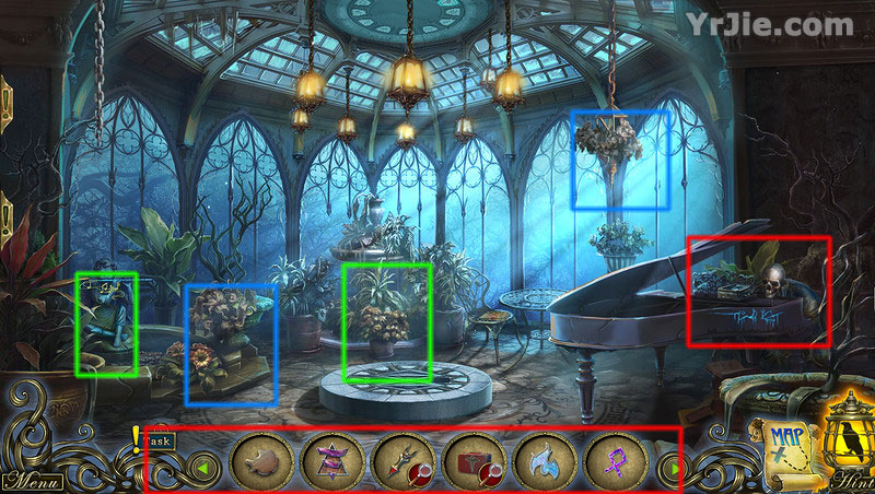 dark tales: edgar allan poes morella collector's edition walkthrough screenshots 5