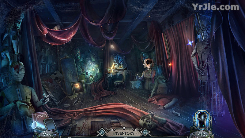 harrowed halls: hells thistle collector's edition review screenshots 4