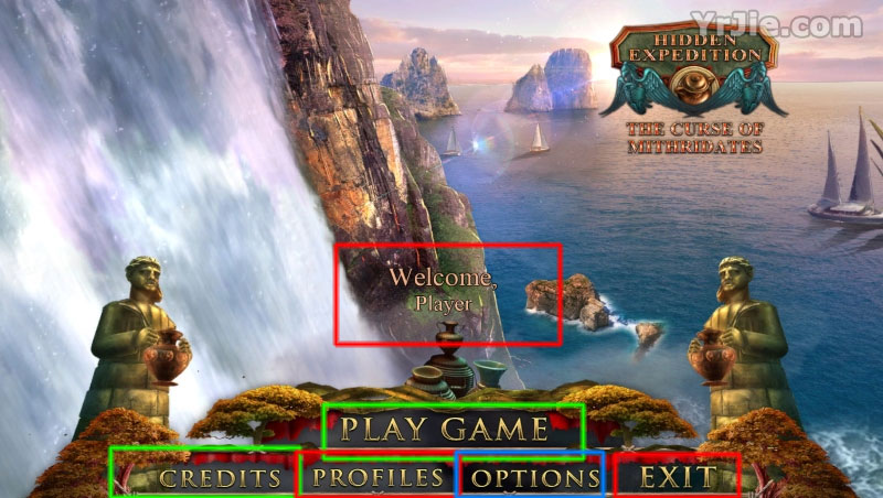 Hidden Expedition: The Curse of Mithridates Collector's Edition Walkthrough