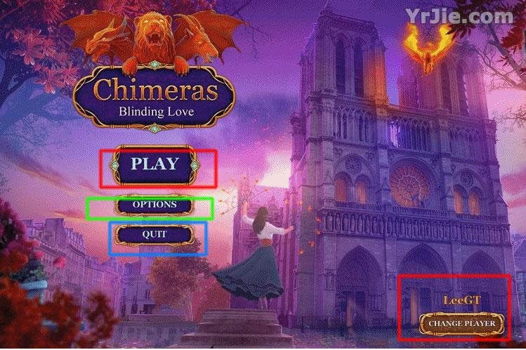 chimeras: blinding love walkthrough