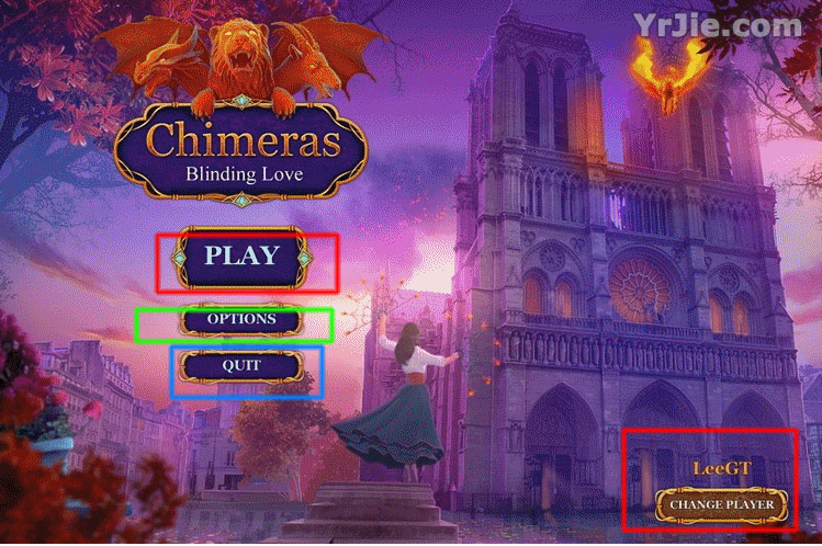 Chimeras: Blinding Love Collector's Edition Walkthrough
