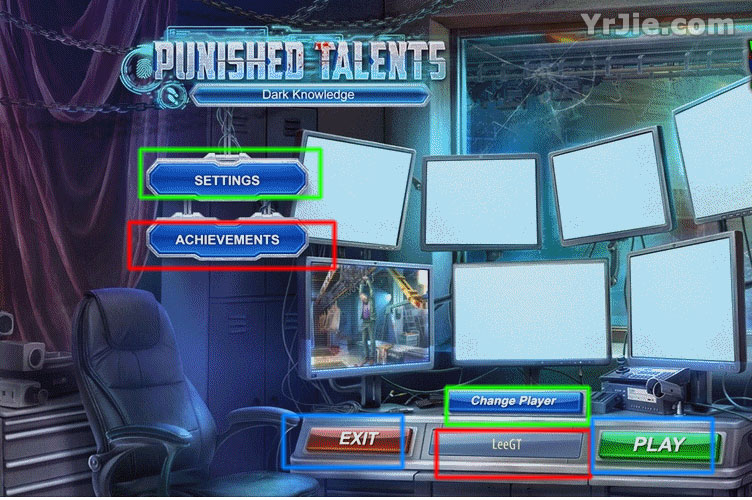 Punished Talents: Dark Knowledge Collector's Edition Walkthrough