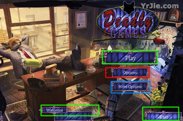 Deadly Games: Crimes of Passion Walkthrough