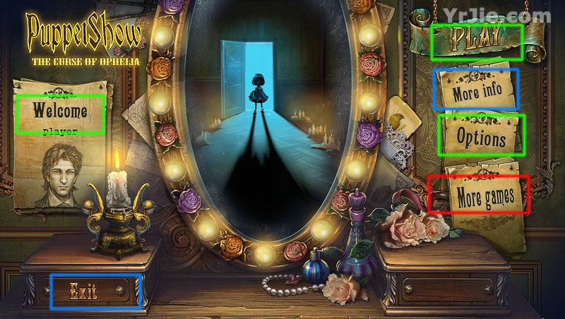 puppetshow: the curse of ophelia collector's edition walkthrough