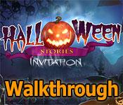 halloween stories: invitation walkthrough