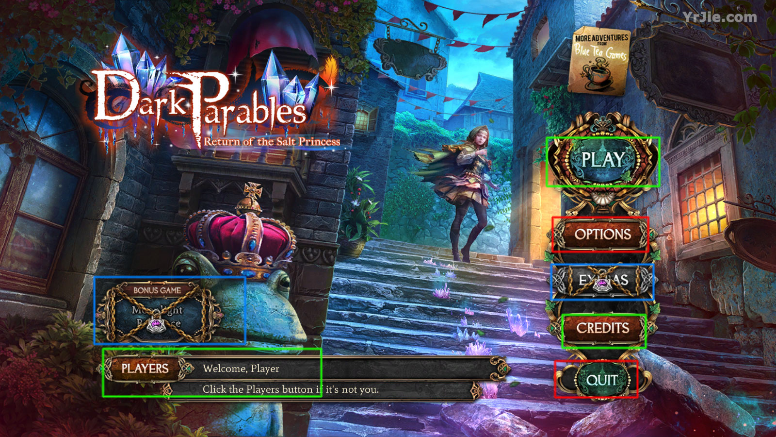 dark parables: return of the salt princess collector's edition walkthrough