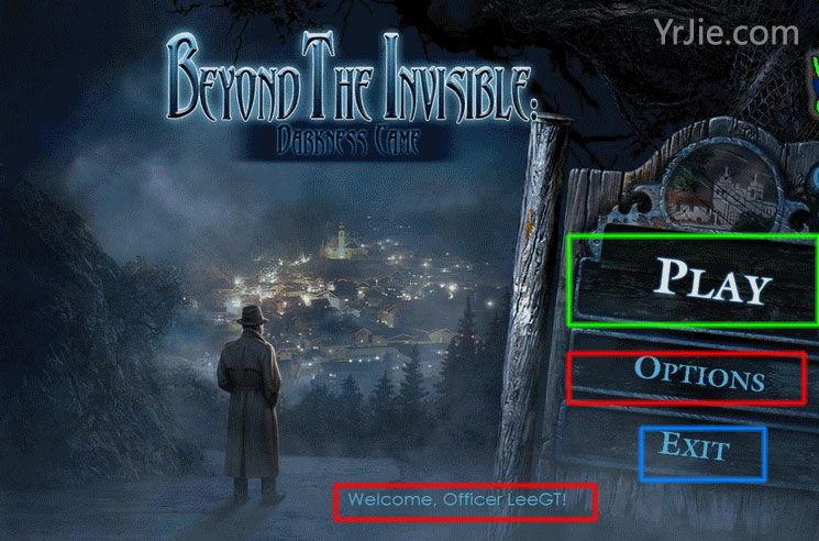 Beyond the Invisible: Darkness Came Walkthrough