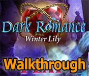 dark romance: winter lily walkthrough