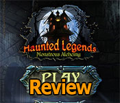 haunted legends: monstrous alchemy review