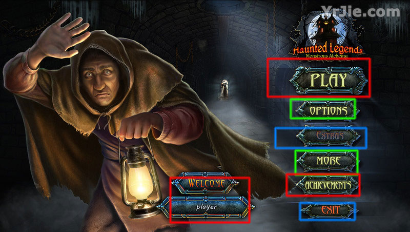 Haunted Legends: Monstrous Alchemy Walkthrough