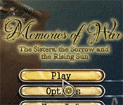 Memories Of War: The Sisters The Sorrow And The Rising Sun Collector's Edition game feature image
