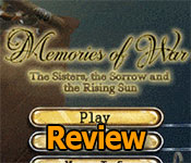memories of war: the sisters the sorrow and the rising sun collector's edition review