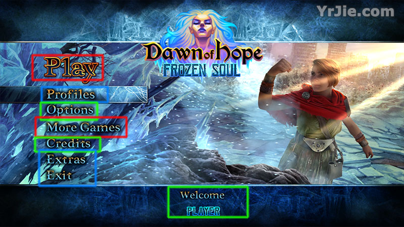 dawn of hope: the frozen soul collector's edition walkthrough screenshots 1