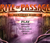 rite of passage: hackamore bluff  review