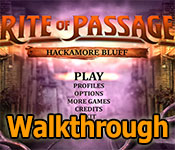 Rite of Passage: Hackamore Bluff  Walkthrough game feature image