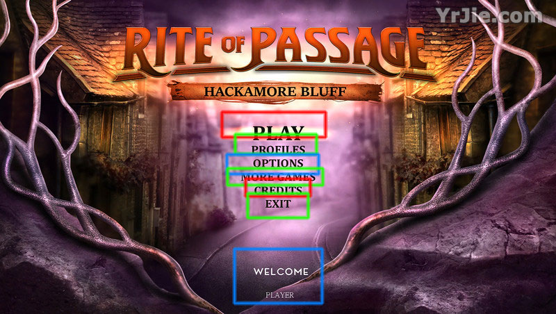 rite of passage: hackamore bluff  collector's edition walkthrough
