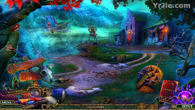 enchanted kingdom: fog of rivershire collector's edition review screenshots 2