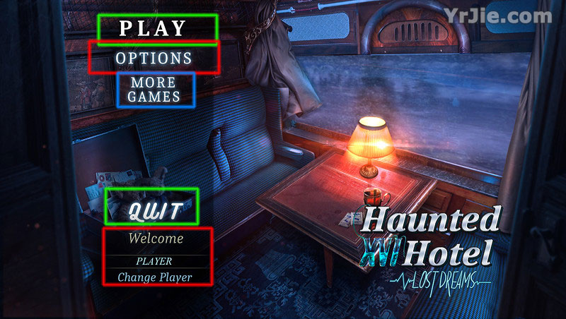 haunted hotel xvi: lost dreams walkthrough screenshots 1