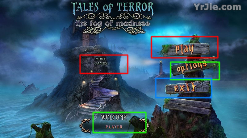 tales of terror: the fog of madness collector's edition walkthrough screenshots 1