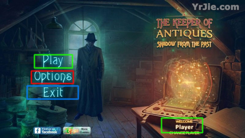 The Keeper of Antiques: Shadows From the Past Collector's Edition Walkthrough