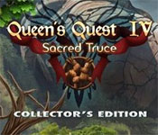 Queens Quest 4: Sacred Truce Collector's Edition game feature image