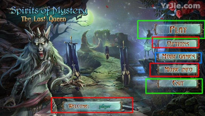 Spirits of Mystery: The Lost Queen Collector's Edition Walkthrough