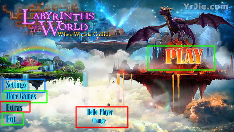 Labyrinths of the World: When Worlds Collide Collector's Edition Walkthrough