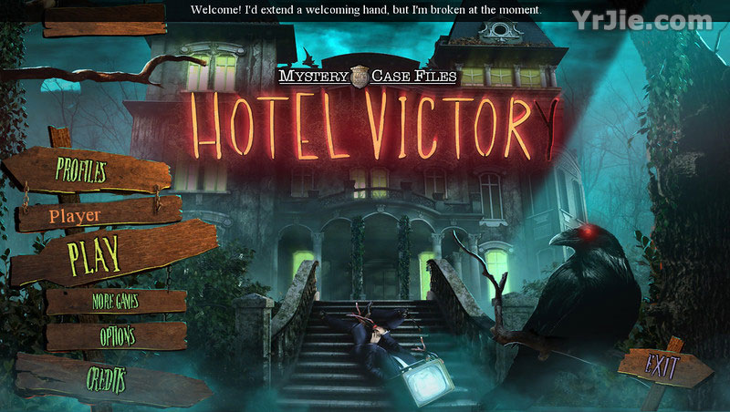 mystery case files: hotel victory collector's edition