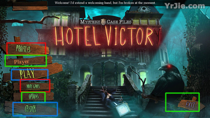 mystery case files: hotel victory walkthrough screenshots 1