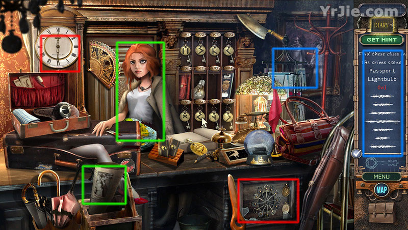 mystery case files: hotel victory walkthrough screenshots 2