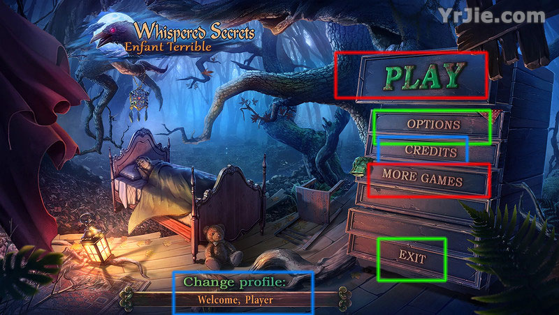 whispered secrets: enfant terrible collector's edition walkthrough screenshots 10