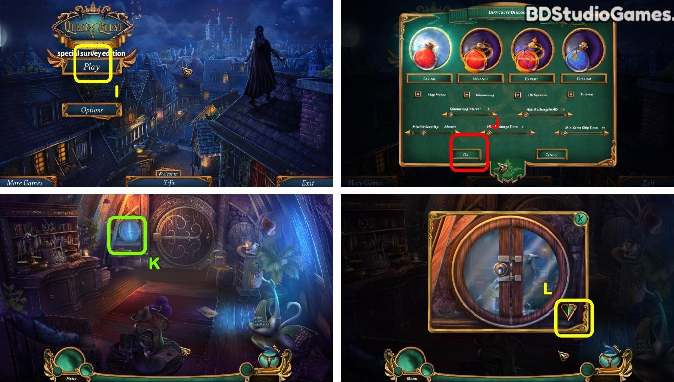 Queens Quest 5: Symphony of Death Walkthrough