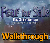 Fear for Sale: Tiny Terrors Collector's Edition Walkthrough game feature image