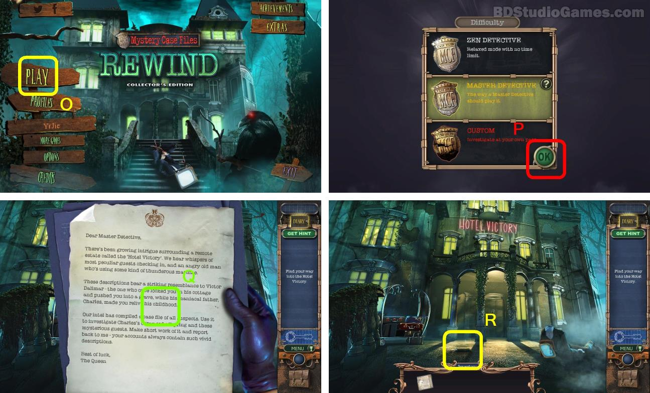 Mystery Case Files: Rewind Walkthrough