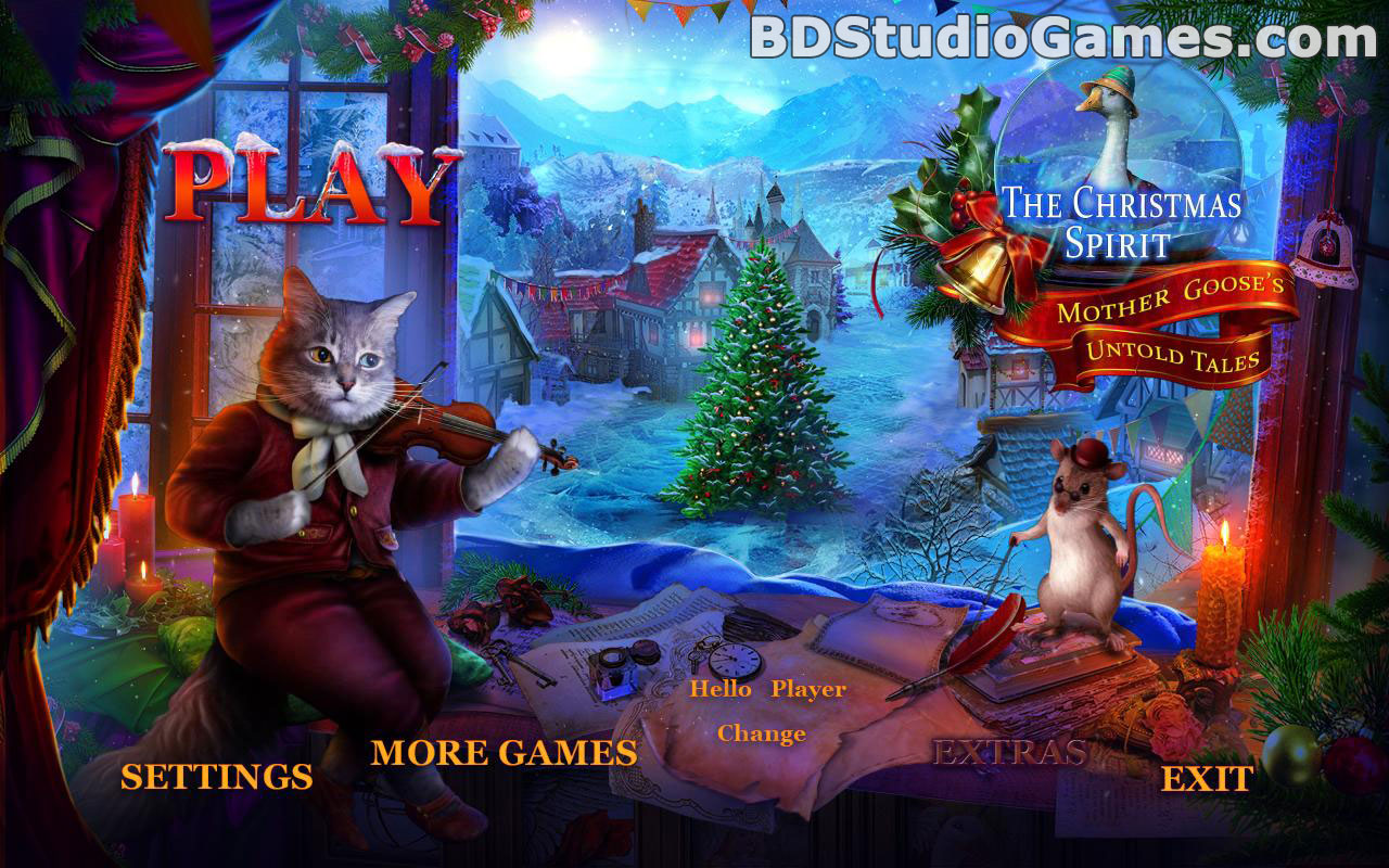 the christmas spirit: mother gooses untold tales collector's edition free download screenshots 1