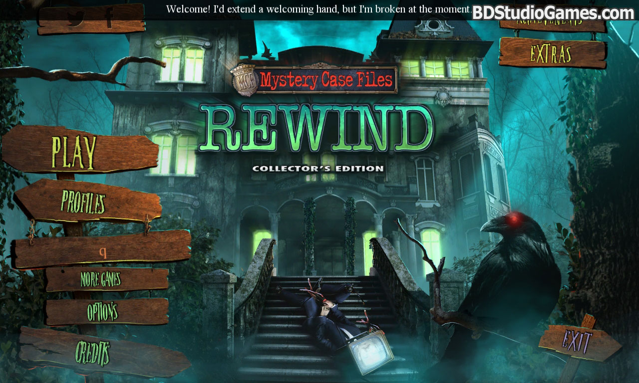 mystery case files: rewind collector's edition free download screenshots 1
